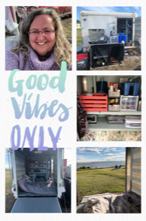 My first camping trip with my new camper!  A beautiful little lake  outside of Grande Prairie.  It actually seems like I am on  the coast as there are gulls and pelicans.  Quite a little find!
